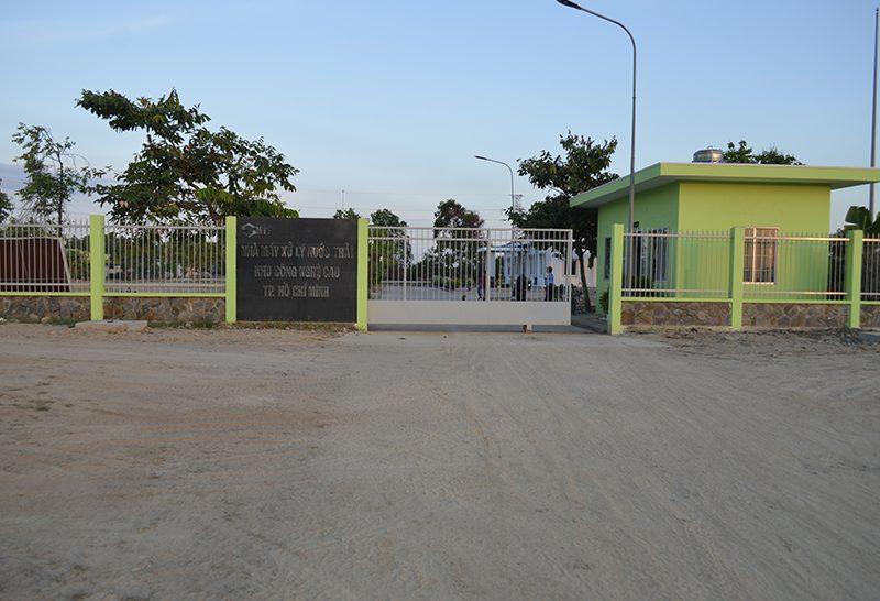 Nhà máy xử lý nước thải
